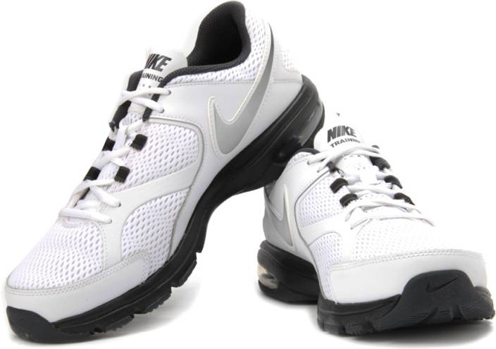 1213c20810 Nike Air Max Compete Tr Training Shoes For Men (Silver, White, Black, Grey)