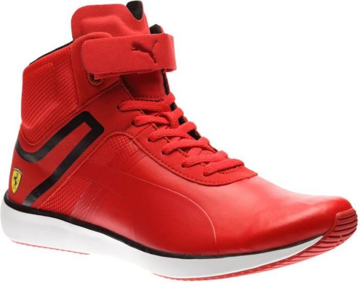 pretty nice 48f57 c6cc3 ... Puma Ferrari F116 Skin Mid SF Motorsport Shoes ...
