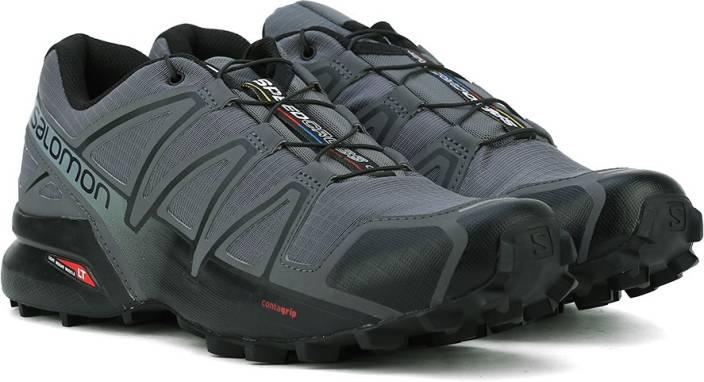 01768fb5 Salomon SPEEDCROSS 4 DARK CLOUD/BLACK/GY Trail Running Shoes For Men