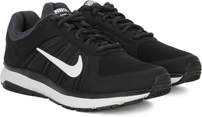 35631ee7f6b Nike DART 12 MSL Men Running Shoes For Men - Buy BLACK   WHITE ...