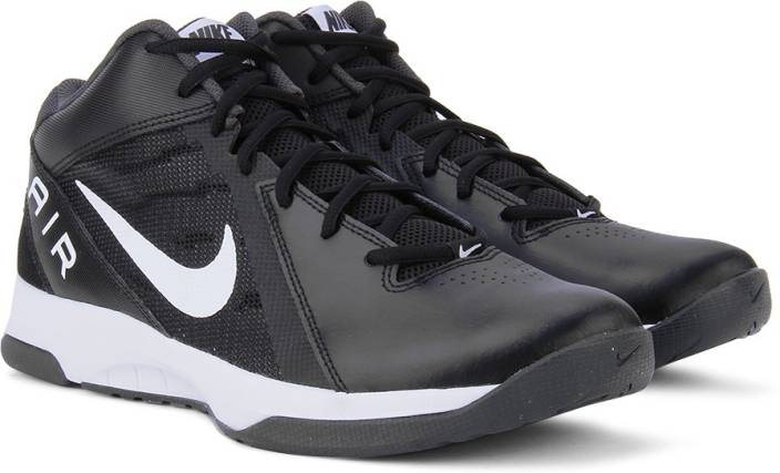 The Air Overplay Ix Black Basketball Shoes