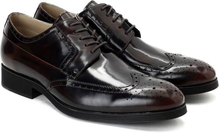 Clarks Gabwell Limit Chestnut Leather lace up For Men