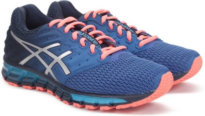 Asics GEL-QUANTUM 180 2 Running Shoes For Men - Buy DARK NAVY SILVER ... 0358db91f
