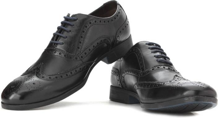 Clarks Banfield Limit Black Leather Lace up For Men