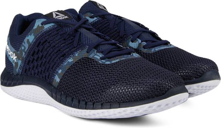 79ff952ce84c36 REEBOK ZPRINT RUN CAMO GP Running Shoes For Men - Buy NAVY WHT Color ...