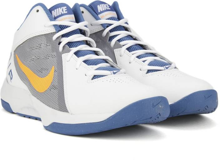 b4dca6add98 Nike THE AIR OVERPLAY IX Basketball Shoes For Men - Buy WHITE BRIGHT ...