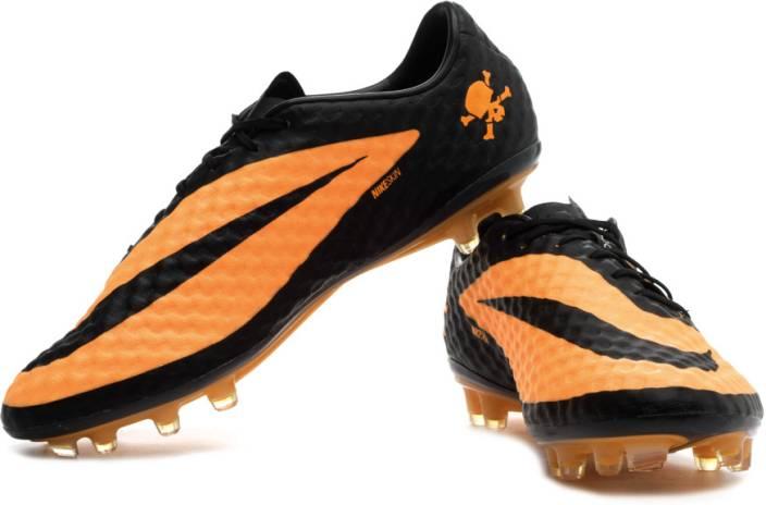 on sale d6647 e1f35 Nike Hypervenom Phantom Fg Football Shoes For Men (Black, Orange)