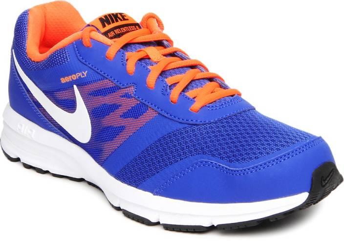 Air Relentless  Msl Blue Running Shoes