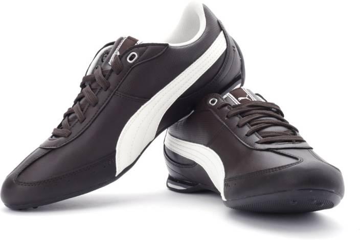 Puma Racer Shoes Coffee Brown