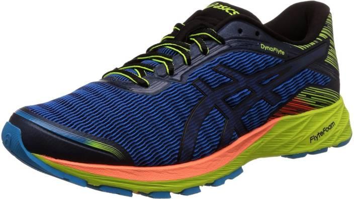 cdf6f491f5c1 Asics DynaFlyte Running Shoes For Men - Buy POSEIDON BLACK  SAFETY ...