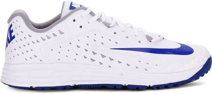 6e23d15dce1d90 Nike POTENTIAL 2 Cricket Shoes For Men - Buy WHITE / RACER BLUE ...