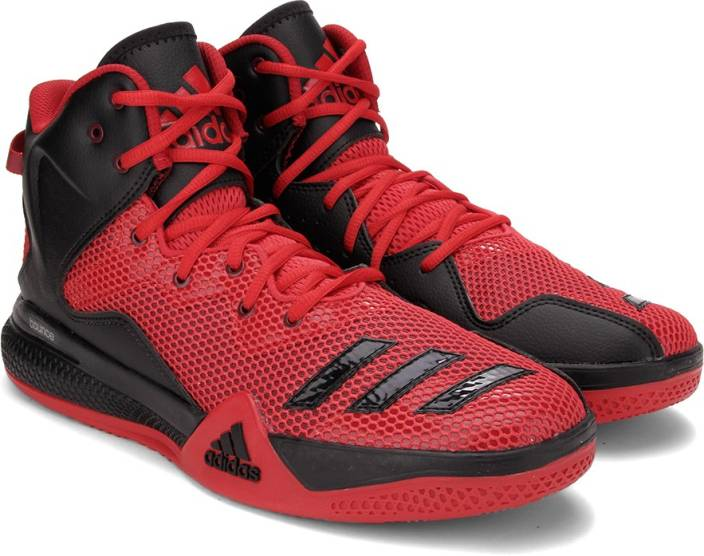 b0b4f23fcc8 ADIDAS DT BBALL MID Basketball Shoes For Men - Buy SCARLE FTWWHT ...