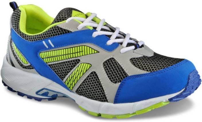 Yepme Black & Green Running Shoes For Men