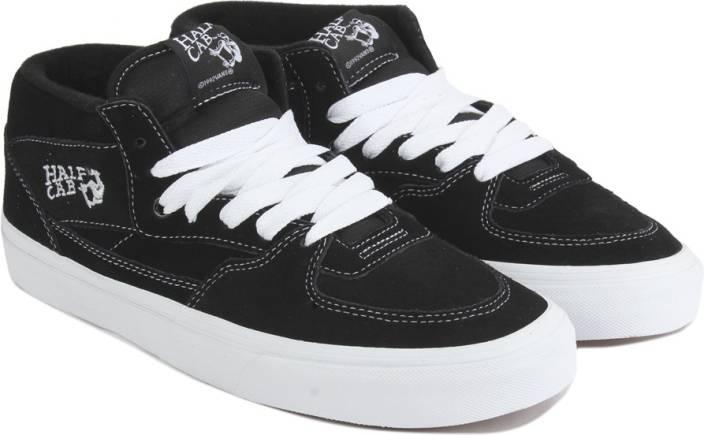 8eb0f0fbedce Vans HALF CAB Sneakers For Men - Buy BLACK Color Vans HALF CAB ...