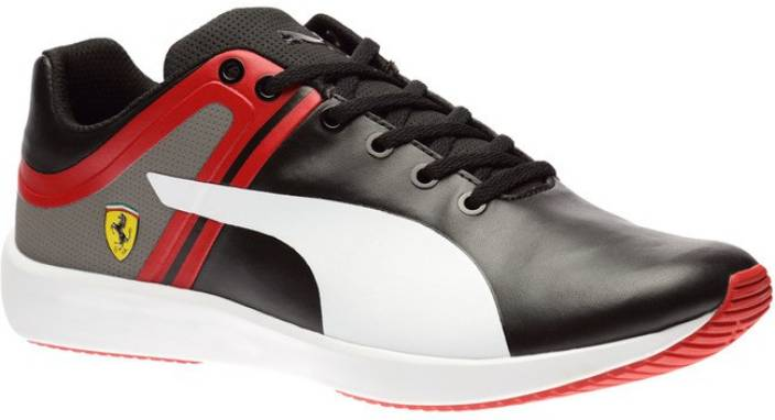 Comfortable 209759 Puma Ferrari Firstlap Sf Men Black Red Shoes