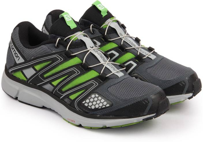 Salomon X-MISSION 2 GY/ON/SPRING Running Shoes For Men