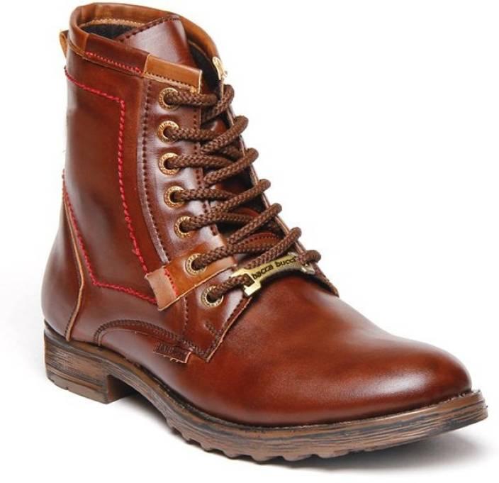 98ec68b12dd Bacca Bucci Adventure Brown Boots Boots For Men