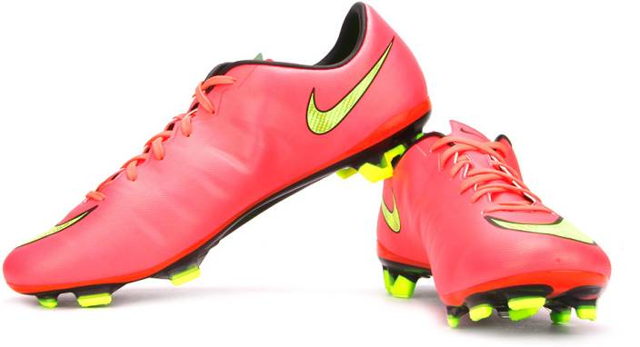 d0451cf8fc9 Nike Mercurial Veloce II FG Football Shoes For Men - Buy Pink