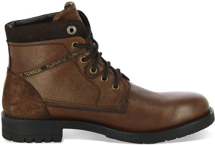 9103fd708bb41 Alberto Torresi 84074 Boots For Men - Buy Brown Color Alberto ...
