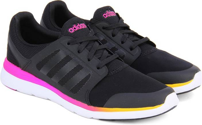 the latest dff25 d16e4 ADIDAS NEO CLOUDFOAM XPRESSION W Sneakers For Women (Black, Pink)