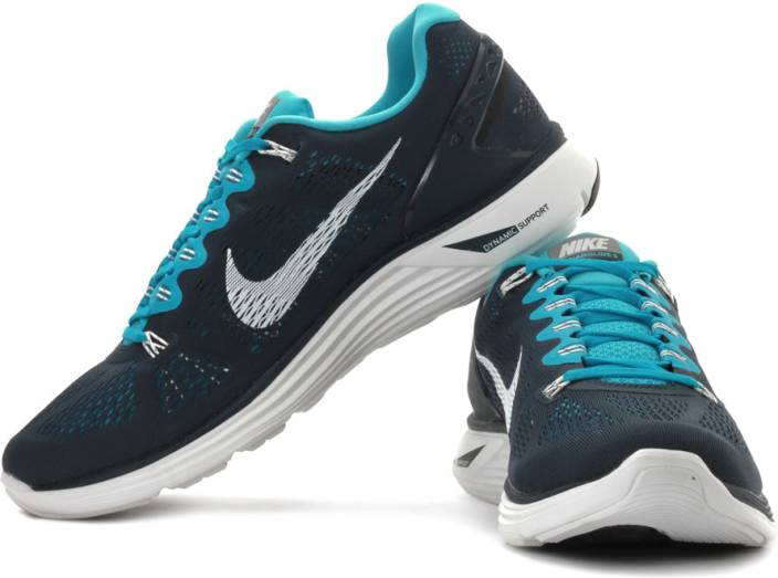 detailed look 1f7c7 87769 Nike Lunarglide 5 Running Shoes For Men (Blue, Navy, White)