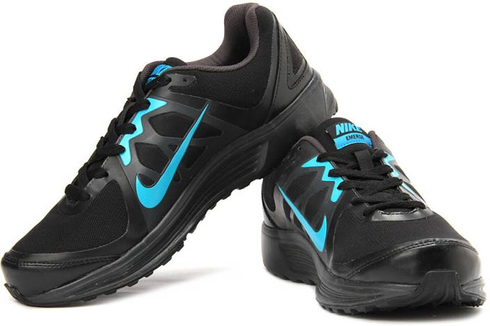 Nike Emerge Running Shoes For Men - Buy Black fccdbaff21