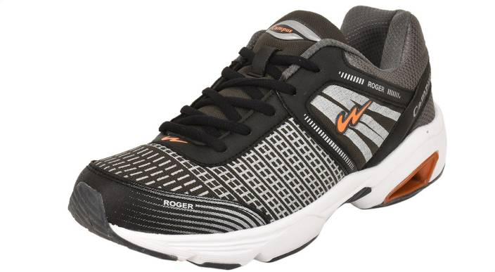 b959cef9b Campus ROGER Running Shoes For Men - Buy Grey-Orange Color Campus ...