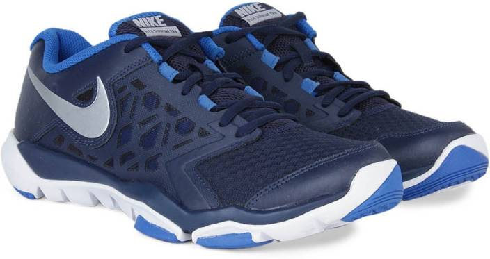Nike Flex Supreme Tr 4 Men Training Shoes For Blue White