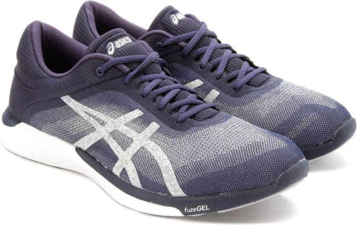 97117cfa568f Asics fuzeX Rush Sports Shoe For Men - Buy INDIGO BLUE SILVER WHITE ...