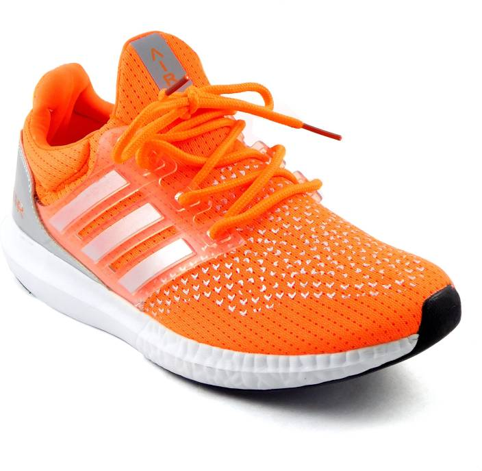Air Sports Running Shoes For Men - Buy Orange Color Air Sports ... fddc72e66