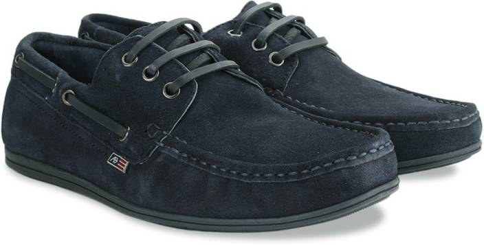 Arrow Casual Lace Up Boat shoes For Men