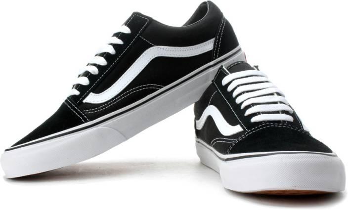 5d97c69f24 Vans Old Skool Canvas Shoes For Men - Buy Black Color Vans Old Skool ...