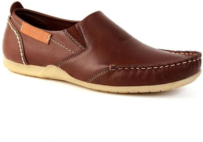 66cc19d8b6a4a Valentino Rocco Loafers For Men - Buy Brown Color Valentino Rocco ...