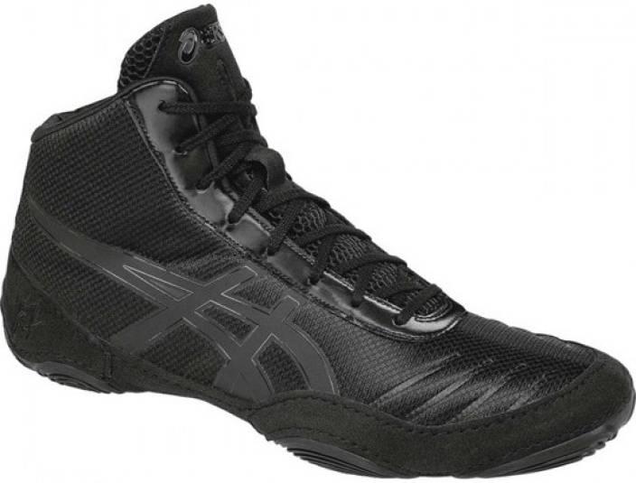 229e20d78639 Asics Jb Elite Wrestling Shoes For Men - Buy Black