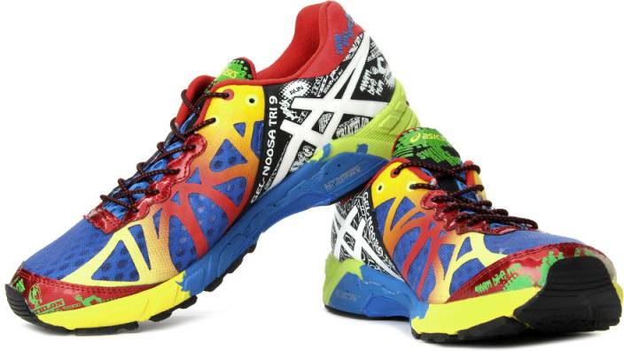low priced 12cbb b1e3b Asics Gel- Noosa Tri 9 Men Running Shoes For Men (Yellow, Multicolor, Blue,  Red)