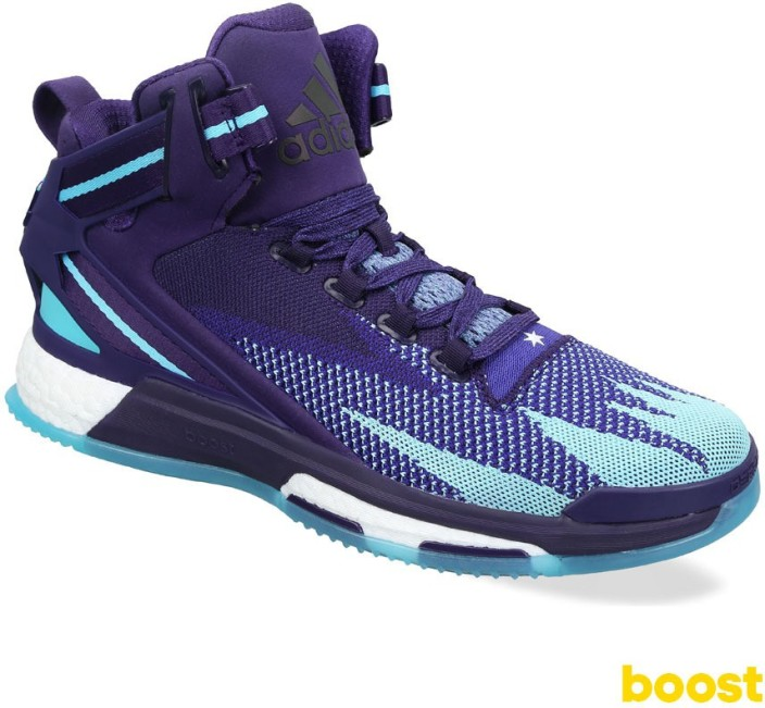 adidas d rose 6 boost primeknit men basketball shoes