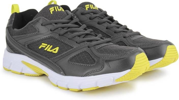 31bd273fe Fila LITE RUNNER PLUS 3 Running Shoes For Men - Buy DK GRY/BLK/YEL ...