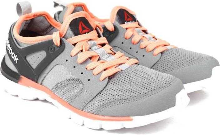 40d2e5092fe819 REEBOK AMAZE RUN Running Shoes For Women - Buy GREY GRAVEL CORAL WHT ...