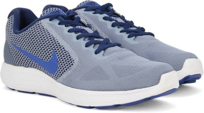 fbf5b561dc5 Nike REVOLUTION 3 Running Shoes For Men - Buy COOL BLUE HYPER COBALT ...