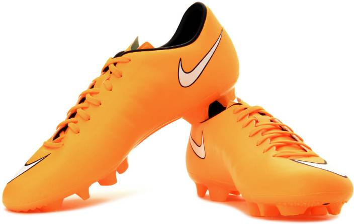Nike Mercurial Victory V HG-V Football Studs For Men - Buy Orange ... e06b4e9e157f