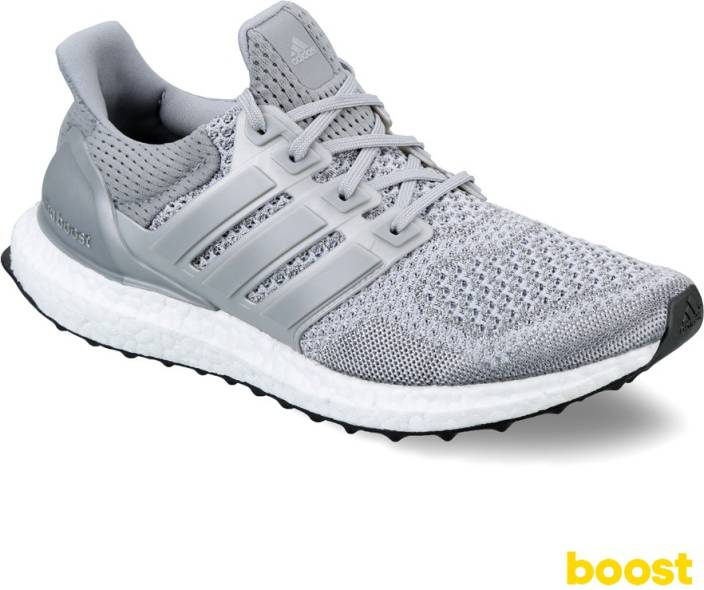 ADIDAS Ultra Boost Ltd. Running Shoes For Men - Buy Grey Color ... c87e04aad