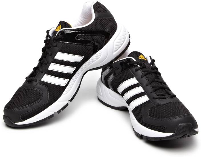 Adidas Galba Black Running Shoes
