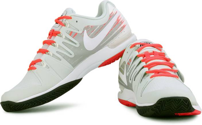 c320aaad70f1f Nike Zoom Vapor 9.5 Tour Running Shoes For Men - Buy White Color ...