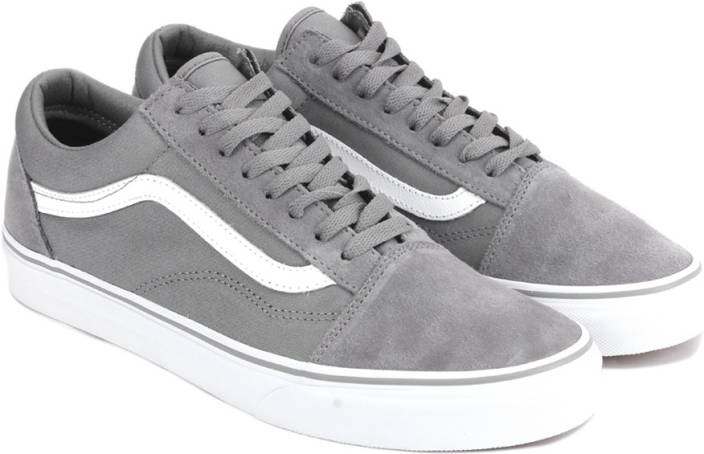 4b815eb1ada Vans OLD SKOOL Sneakers For Men - Buy (SUEDE CANVAS) FROST GRAY TRUE ...