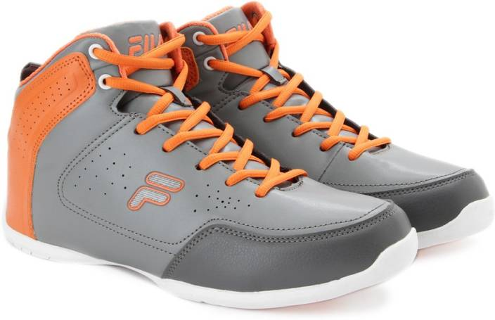 fila shoes brown. fila play off ii basket ball shoes brown