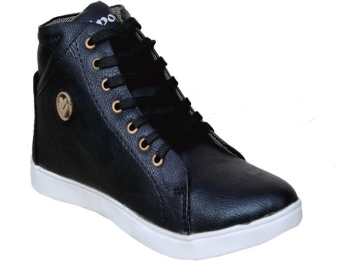 Sukun PDW_601_Black Sneakers For Men