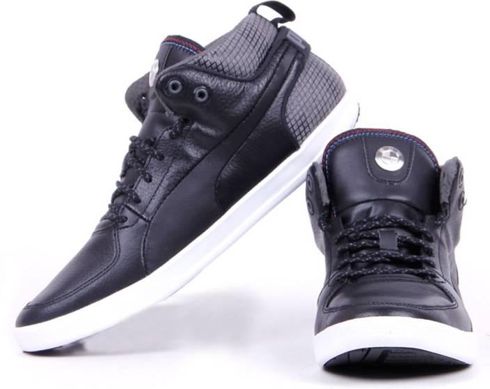 Puma BMW M Power Mid NM Motorsport Shoes For Men - Buy Black Color ... a7318d387
