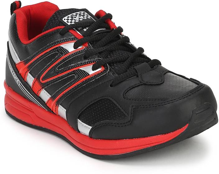Welcome WS 01 Black Red Casuals For Men