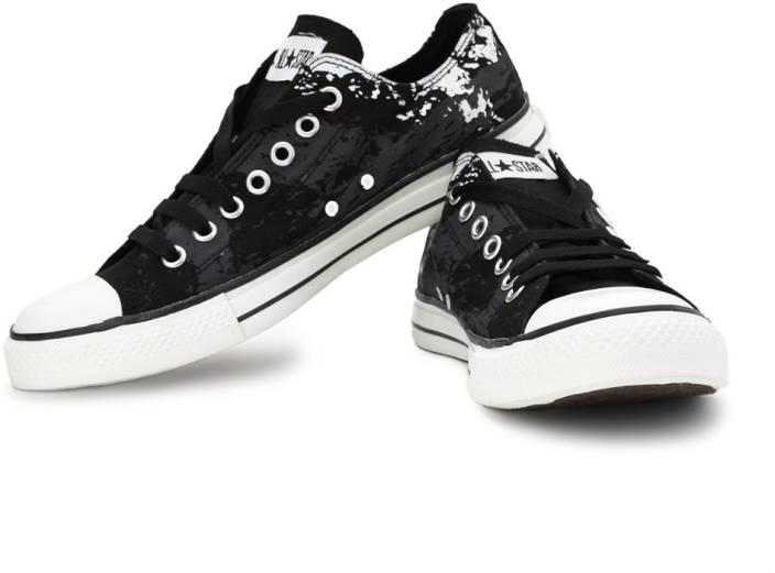 Converse Canvas Shoes For Men - Buy Black Color Converse Canvas ... af75f35c4