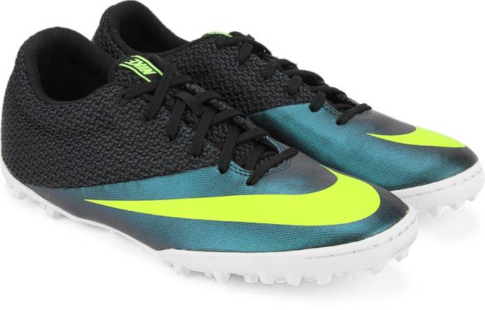 reputable site b1cc2 e333e Nike MERCURIALX PRO TF Men Football Shoes For Men (Black, Blue, Green)